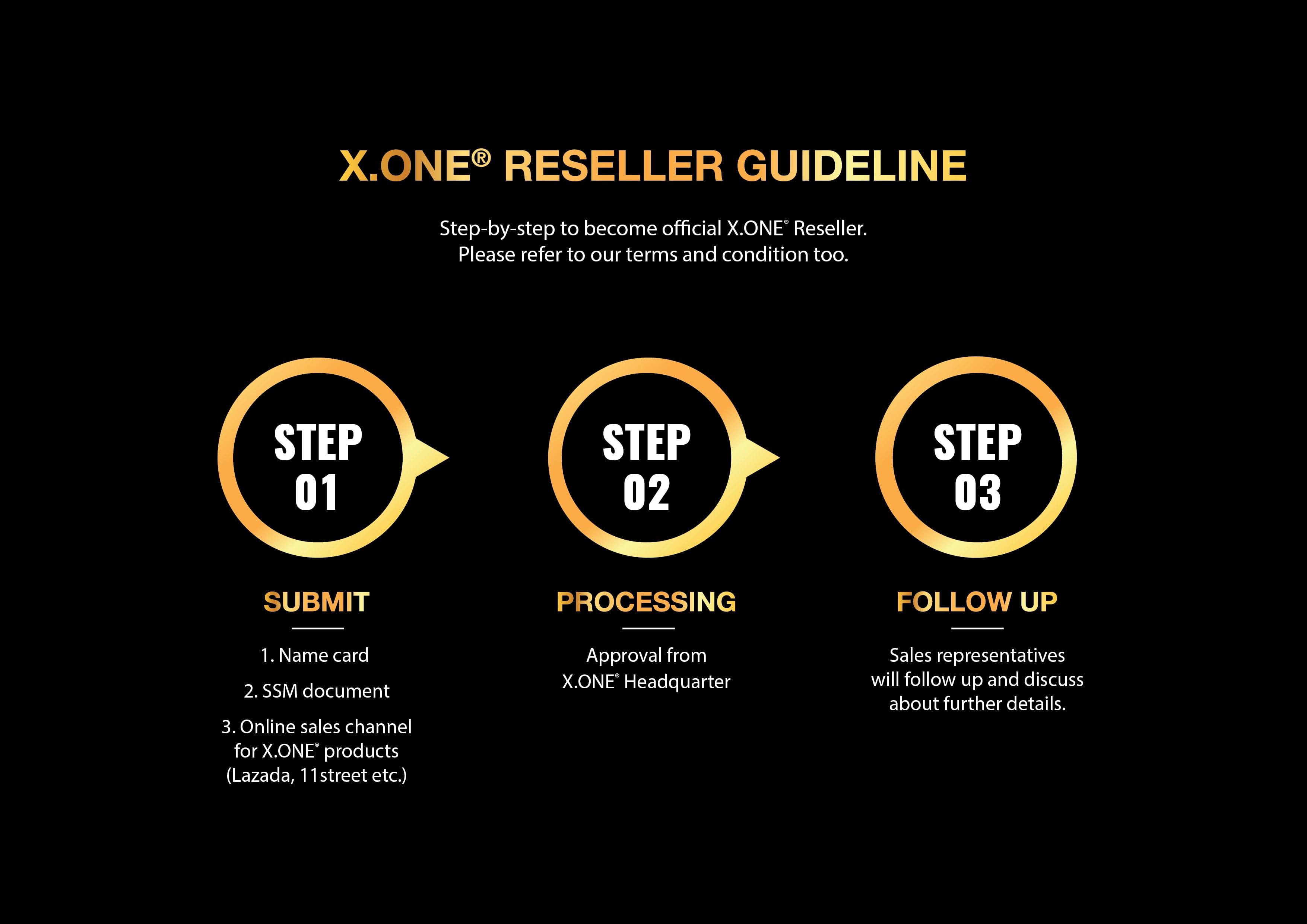 XONE Reseller Guideline TC 02