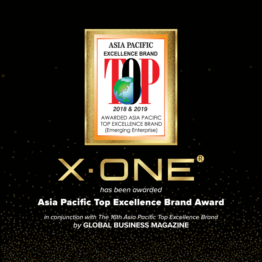 Asia Pacific Top Excellence Brand – X.ONE®