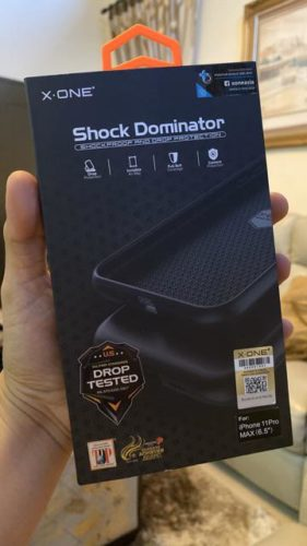 X.One® Shock Dominator Impact Protection Case for iPhone 11 Pro Max photo review
