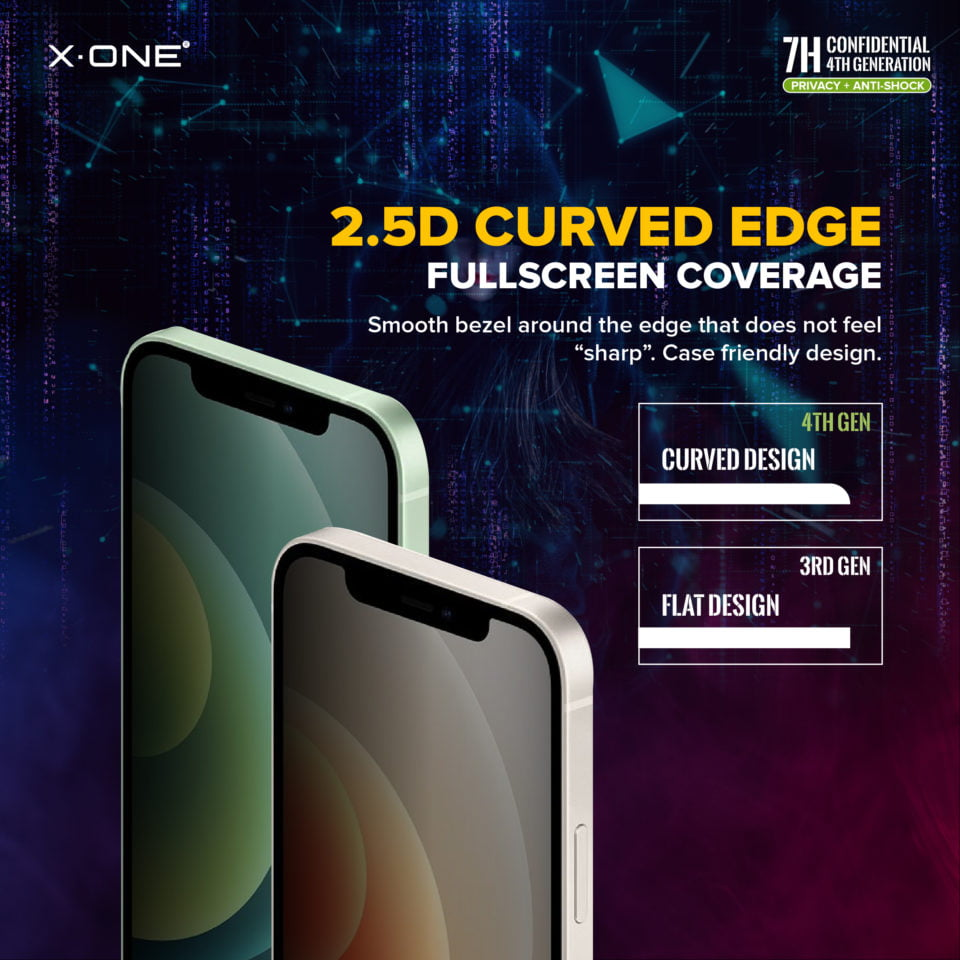 180 Privacy Extreme 7H for iPhone 12 (Fullscreen)-11