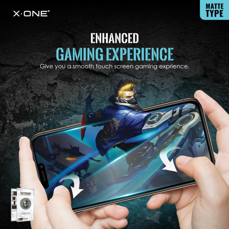 Extreme-7H-Matte-for-iPhone-12-(Flat)_Enhanced-Gaming-Experience