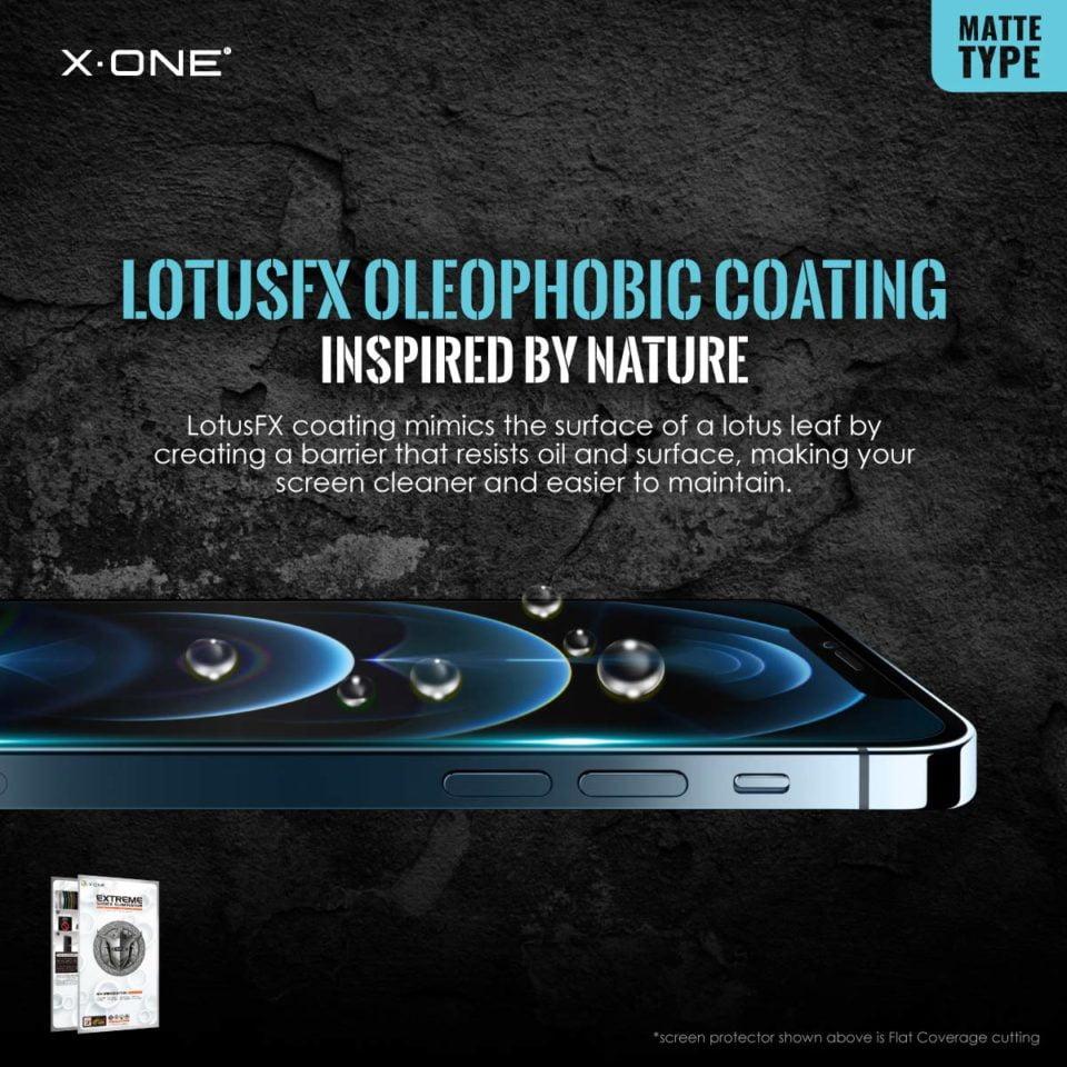 Extreme-7H-Matte-for-iPhone-12-(Flat)_LotusFX-Oleophobic-Coating