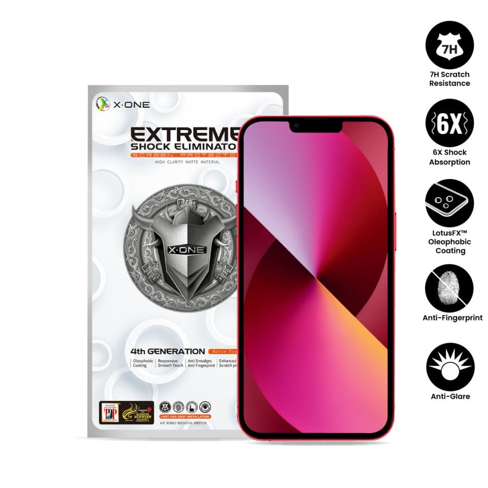 Extreme-7H-Matte-(Non-Full-Screen)-iPhone-13