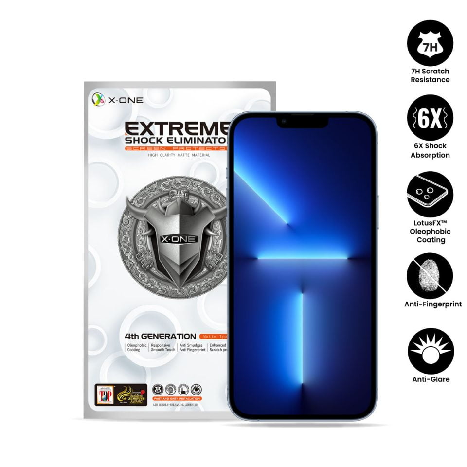 Extreme-7H-Matte-(Non-Full-Screen)-iPhone-13-Pro-Max